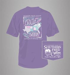 ef69ed5fac Sweet States - Adult Pocket T-Shirt - Southern Fried Cotton by  WoosTooBoutique on Etsy