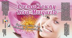 CremaCrowny Rosa Mosqueta con propiedades que ayudan a retrasar la flacidez de la piel, con una piel tersa y suave. ¡Pruébalo ya! #biocrowny