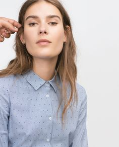BASIC POPLIN SHIRT-Wear to work-WOMAN | ZARA United States