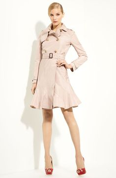 I think every women needs a trench coat in the closet, if nothing else but that special occasion when you need one.