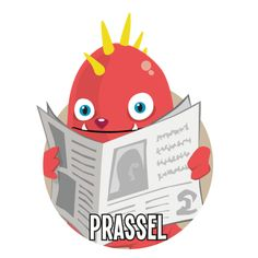 Bild på Prassel i en rund cirkel