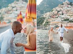 A romantic 1-year anniversary session photographed in beautiful Positano, Italy…