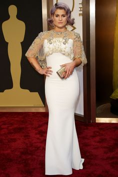 Kelly Osbourne in Badgley Mischka (Oscars 2014)
