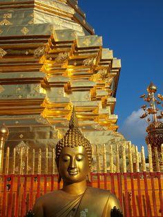 Dec 3? Wat Prah That Doi Suthep in Chiang Mai, Thailand