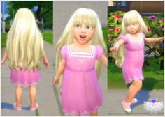 David Sims: Princess Hair for Toddlers • Sims 4 Downloads