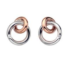 Hot Diamonds 18ct Rose Gold Vermeil Eternity Interlocking Stud Earrings, http://www.amazon.co.uk/dp/B008KET6DK/ref=cm_sw_r_pi_awd_xJq5sb086YK64