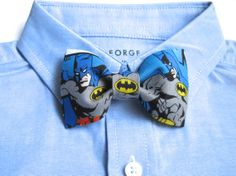 Baby/ Toddler/ Boys Bow Tie made with Batman Fabric, Blue and Grey Bow Tie, Boys Bow Tie on Alligator Clip,Superhero Bow Tie,Superhero Party on Etsy, Sold