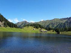 Duisitzkarsee - einfach herrlich Familienwanderung - Obertal in Rohrmoos #wandern #natur #bergsee River, Mountains, Nature, Outdoor, Hiking, Round Round, Simple, Outdoors, Naturaleza