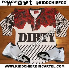 Image of Crooks Roses Jersey INSTOCK
