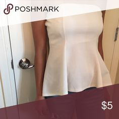 white&strapless super cute & comfy Wet Seal Tops Blouses