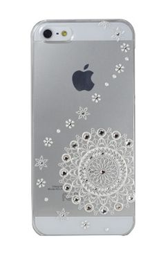 Clear Line White Lace for iPhone5