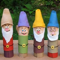 Toilet Paper Roll Crafts - Get creative! These toilet paper roll crafts are a great way to reuse these often forgotten paper products. You can use toilet paper Kids Crafts, Disney Crafts For Kids, Crafts To Do, Art For Kids, Arts And Crafts, Movie Crafts, Family Crafts, Toddler Crafts, Easy Crafts