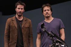 Keanu Reeves Spain • Bike talk with Keanu Reeves and Gard Hollinger ...