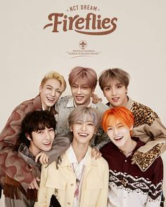 Nct dream 'Fireflies' is a collaboration track with the Global Scout Foundation and it's an up-tempo electro dance-pop song with impressive guitar riffs and rhythmical synth, accompanied by English lyrics. J Pop, Nct 127, Winwin, Mtv, Ntc Dream, Nct Dream Chenle, Hip Hop, Pre Debut, Scouting
