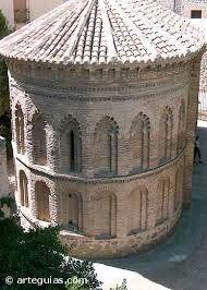 Romanico. Iglesia de San Roman en Toledo.