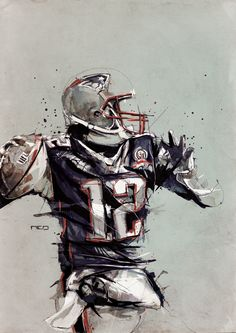 Tom Brady Art | New England Patriots