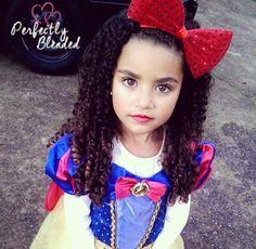Kamiah 4 years old  Caucasian & African American