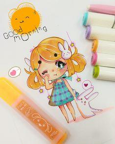 Chibi Girl Drawings, Anime Drawings Sketches, Anime Sketch, Kawaii Drawings, Manga Drawing, Cute Drawings, Kawaii Chibi, Cute Chibi, Kawaii Art