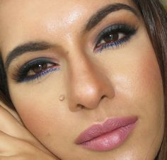 Make up by Rita Lopes: Tutorial: Esfumado Azul