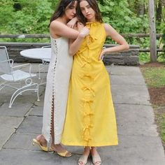 Check out editorial for Memorial Day weekend dressing ✨💛✨💛✨ Sol dress in Sol, full moon dress in white sands and the wonder… Kurta Designs Women, Blouse Designs, Indian Designer Outfits, Designer Dresses, Stylish Dresses, Fashion Dresses, Modele Hijab, Kurta Neck Design, Weekend Dresses