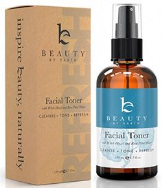 Facial Toner  Hydrating Face Spray  Organic  Natural Witch Hazel  Rose Water Astringent >>> Check out this great product.