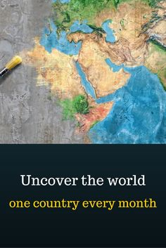 Check it out!   Uncover the world, one country every month - box of the month.  See, taste, smell, and experience a new culture with your friends or family.