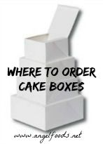 Where to Order Cake Business Packaging | http://angelfoods.net/where-to-order-cake-business-packaging