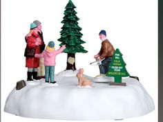 LEMAX Christmas Village Pine Hill Tree Farm Table Accent NEW #64062 #LemaxVillageCollection