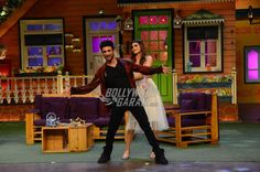 Sushant and Kriti danced to the tunes of their movie Raabta on The Kapil Sharma Show
