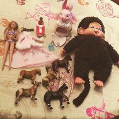 #retourdechine #chinedujour #mattel #barbievintage #playmobil #kiki #schleich #keypers #poney #vintage #toys