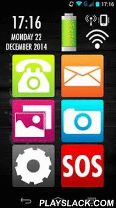 Help Launcher  Android App - playslack.com , Help Launcher is an app which has been especially designed so that the elderly, blind or visually impaired people, etc. find it easier to use smartphones. Simple menus accessible to everyone, identifying and bold colours, big icons and a perfect font size for a perfect display on any screen.This launcher combines all the features of high-performance devices with the simplicity of a basic telephone. Its different colours make the app more…