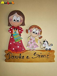 anjelicek / Menovka - dvojica Rust, Snoopy, Handmade, Fictional Characters, Hand Made, Handarbeit
