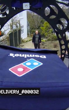 Dominos UK can deliver pizza using a drone