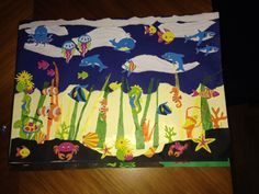 Under the Sea with paper