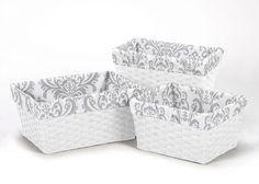 Elizabeth 3 Piece Basket Liner Set