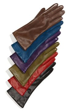Black leather gloves (or any color for that matter)
