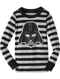 The force may always be with you- Adult Star Wars™ Vader Long John Pajama Top from #HannaAndersson.