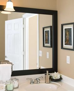 Gold Framed Bathroom Mirrors gold framed bathroom mirrors | http://drrw | pinterest | frame