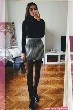 45 Unbelievable Bussiness Outfit Ideas To Look Beautiful – Trendy Fashion Ideas City Outfits, Winter Fashion Outfits, Mode Outfits, Skirt Outfits, Look Fashion, Trendy Fashion, Fall Outfits, Autumn Fashion, Casual Outfits