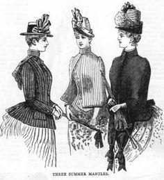 Dress in Season and In Reason, June 1887