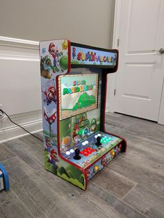 I've got a pretty slick custom arcade cabinet in my man cave, but it really takes up quite a bit of space. Original arcade cabinets needed all of that Mini Arcade Machine, Arcade Game Machines, Arcade Games, Arcade Retro, Retro Game, Pi Arcade, Pinball, Diy Arcade Cabinet, Bartop Arcade