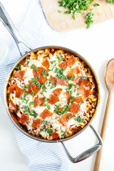 One-Pot Pizza Pasta | Community Post: 15 Cheesy One-Pot Pastas That'll Nourish Your Soul