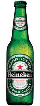 $28.00 for Heineken case...  Bargain at Auction