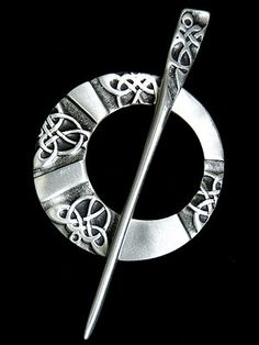 celtic shawl pin