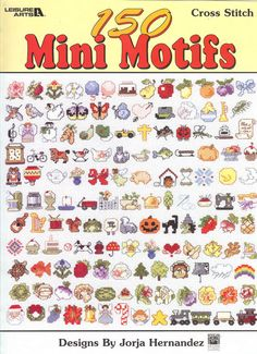 Vintage Cross Stitch 150 Mini Motifs Leaflet 3066