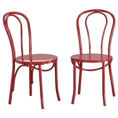 carlisle low back metal dining chair : target | home | pinterest