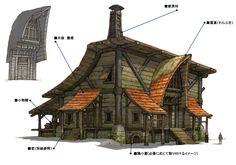 Final Fantasy XIV Version 2.0 Art & Pictures    Building Details