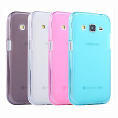 2/lot Tomoral Case For Samsung Galaxy Xcover3 G388F Xcover 3 Pink Blue Grey Clear Cover Soft TPU Gel Matte Back Shell Defender