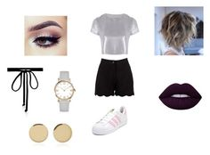 """""""After"""" by halfofourheart ❤ liked on Polyvore featuring Boohoo, Related, adidas, Joomi Lim and Magdalena Frackowiak"""