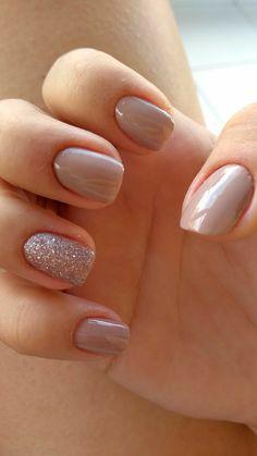 Cute Nail Colors - Neutral Nail Polish Color Nail Color Ideas Cute - Ideas neutral colors for nail polishes - Fashion Feed Neutral Nail Polish, Nail Polish Colors, Color Nails, Glitter Nail Polish, Gel Polish, Nails 2018, Prom Nails, Gorgeous Nails, Pretty Nails